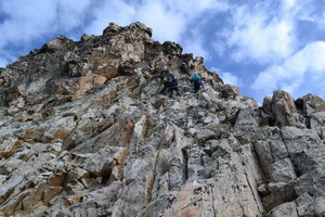 Подъем на перевал Нагеб