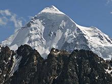 Вид на вершину Тетнульд