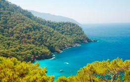 сказочные бухты турецкого побережья