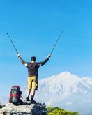 вид на Тахталыдаг, 2365 м