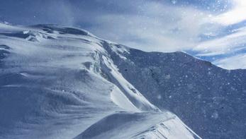 Монблан зимой, Альпы 2017
