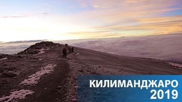 Килиманджаро, август 2017