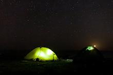 Ночевка под звездами